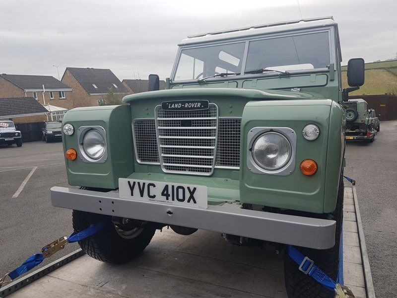 1982 LAND ROVER SERIES 3 SWB PETROL STATION WAGON For Sale (picture 2 of 6)