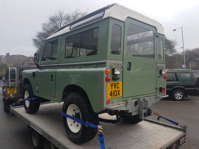 1982 LAND ROVER SERIES 3 SWB PETROL STATION WAGON For Sale (picture 3 of 6)