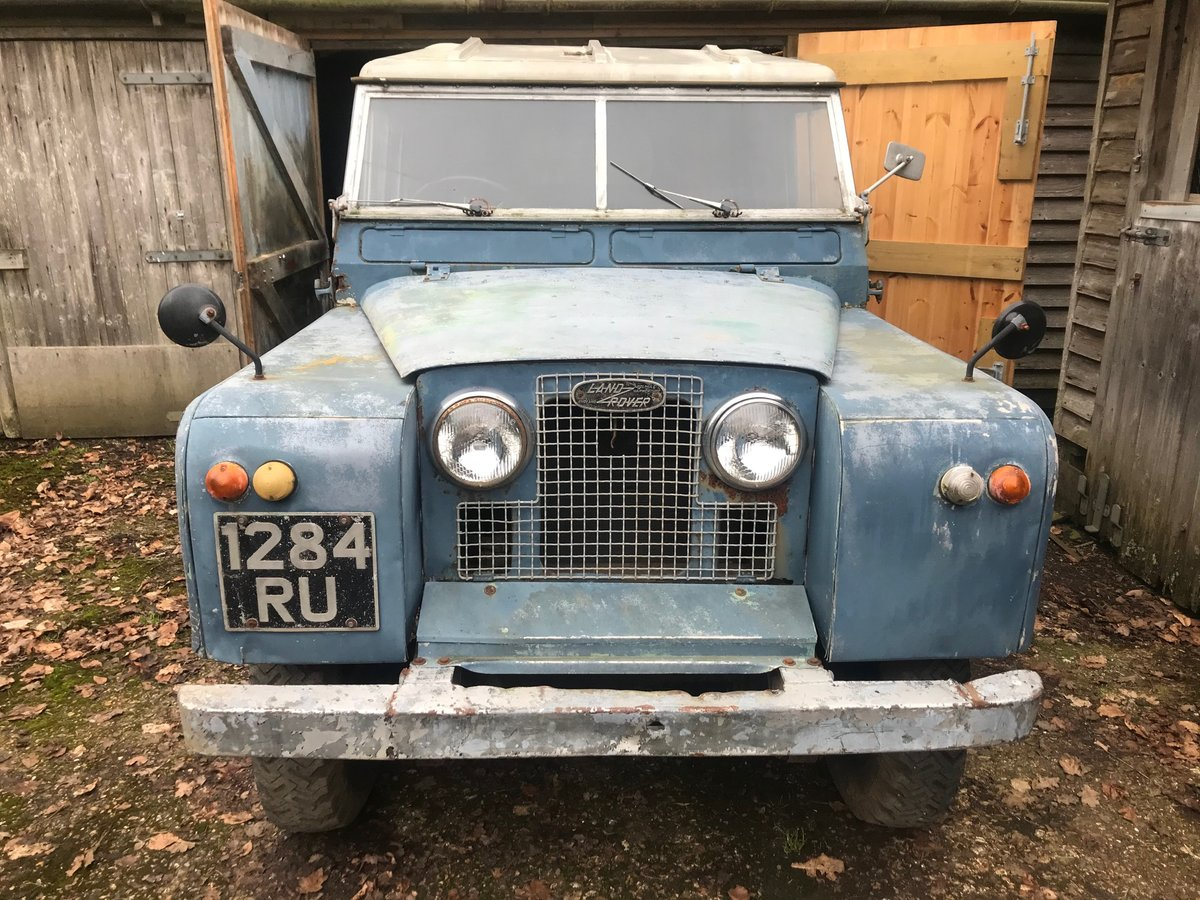 Land Rover Series 2a 1962, 88 SOLD (picture 1 of 6)