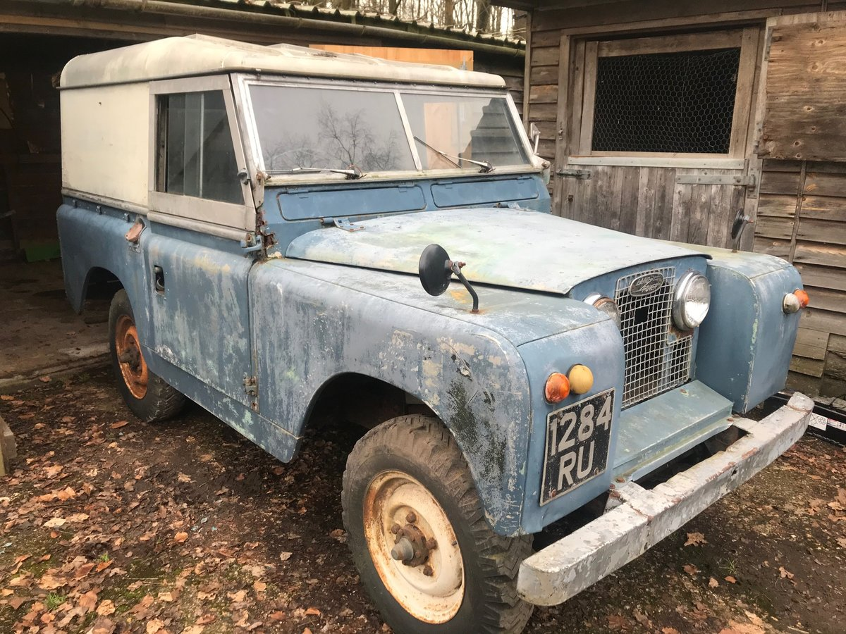 Land Rover Series 2a 1962, 88 For Sale (picture 2 of 6)