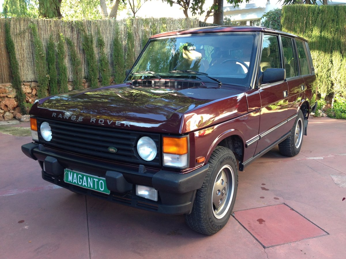 1995 LHD Range Rover Classic 300 Tdi in Spain For Sale (picture 1 of 6)