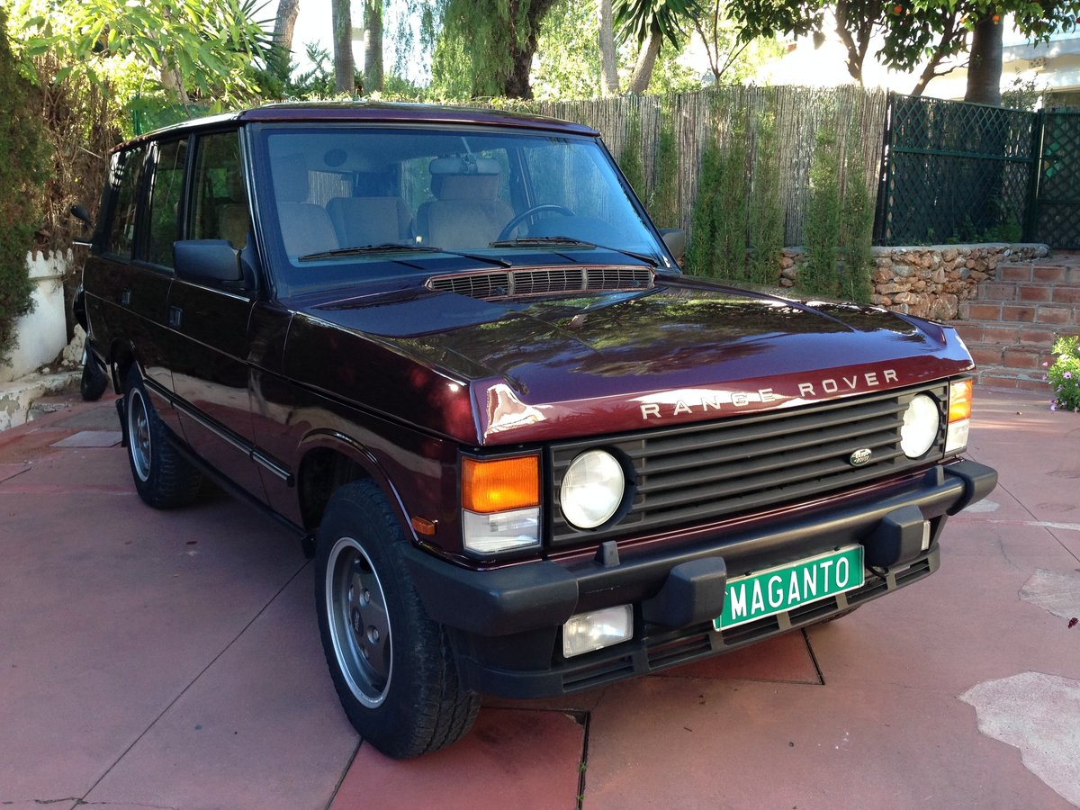1995 LHD Range Rover Classic 300 Tdi in Spain For Sale (picture 2 of 6)