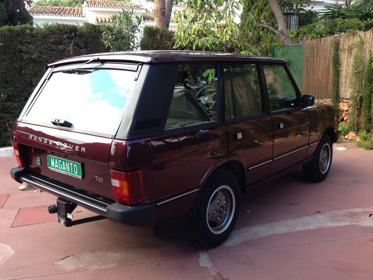 1995 LHD Range Rover Classic 300 Tdi in Spain For Sale (picture 3 of 6)