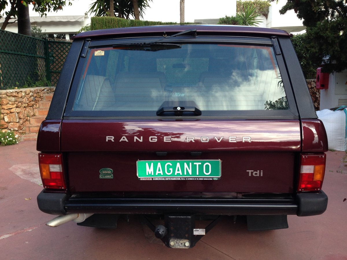 1995 LHD Range Rover Classic 300 Tdi in Spain For Sale (picture 4 of 6)