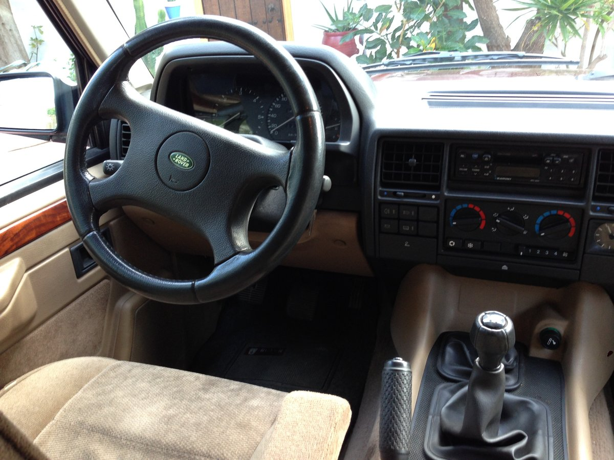 1995 LHD Range Rover Classic 300 Tdi in Spain For Sale (picture 5 of 6)
