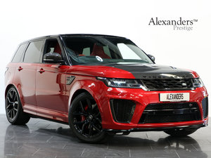 2018 18 18 RANGE ROVER 5.0 V8 SUPERCHARGED SVR AUTO For Sale