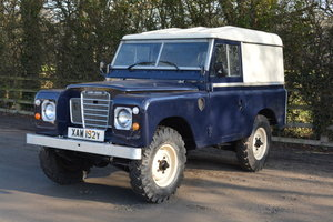 1983 Land ROver Series III 88 For Sale by Auction
