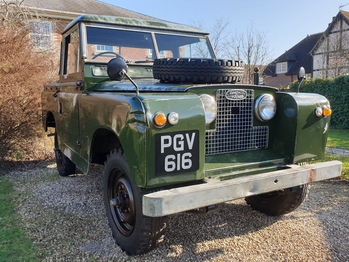 1960 Land Rover Series II 2 prev owners & matching no's SOLD (picture 1 of 6)