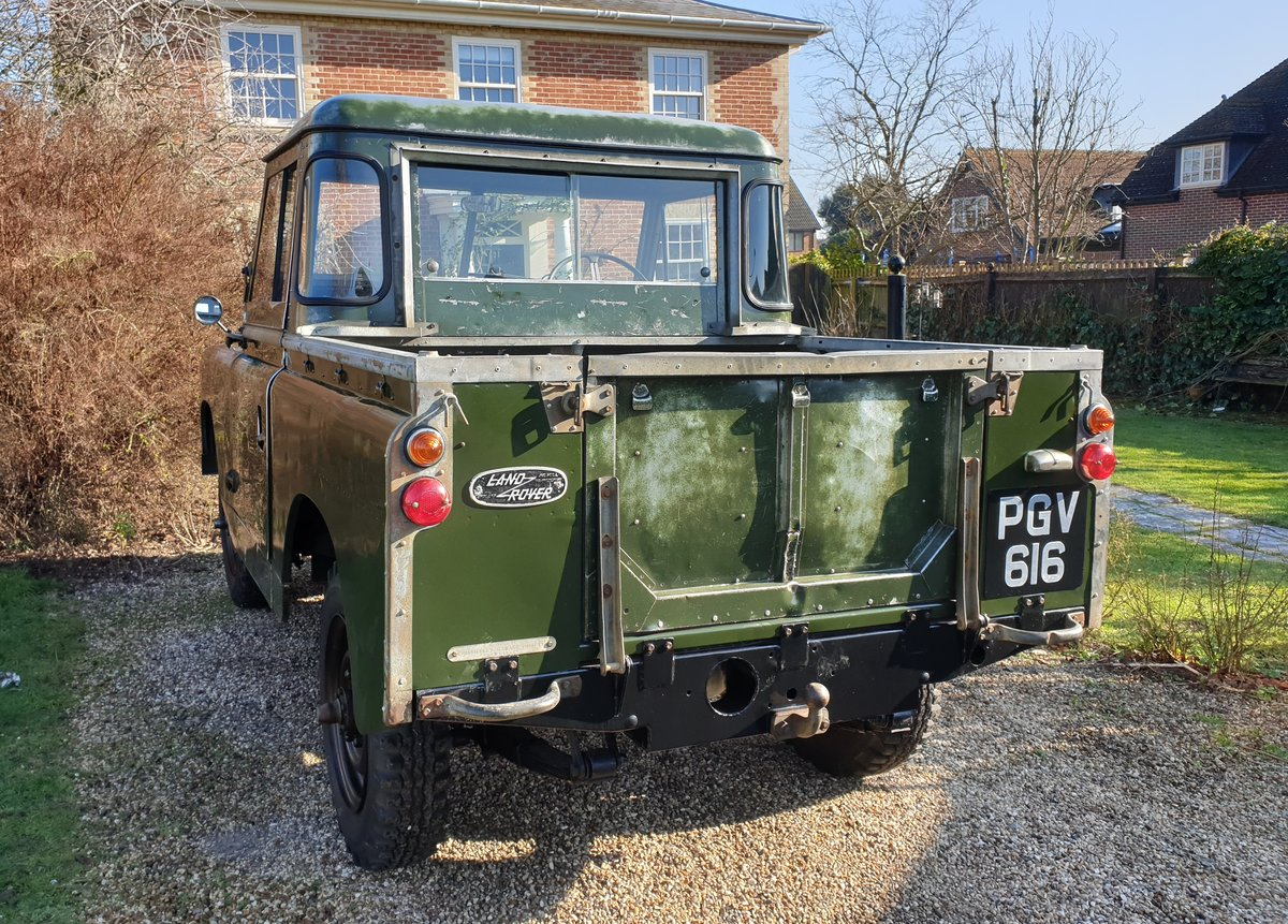 1960 Land Rover Series II 2 prev owners & matching no's SOLD (picture 2 of 6)