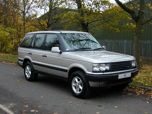 2000 RANGE ROVER P38 4.0 SE RHD - LOW MILES ONLY 48k! - EX JAPAN! For Sale