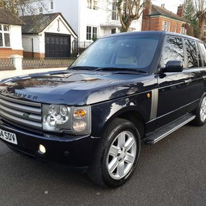 2004 Beautiful Range Rover 4.4 Vogue Petrol Just 91000m FSH SOLD