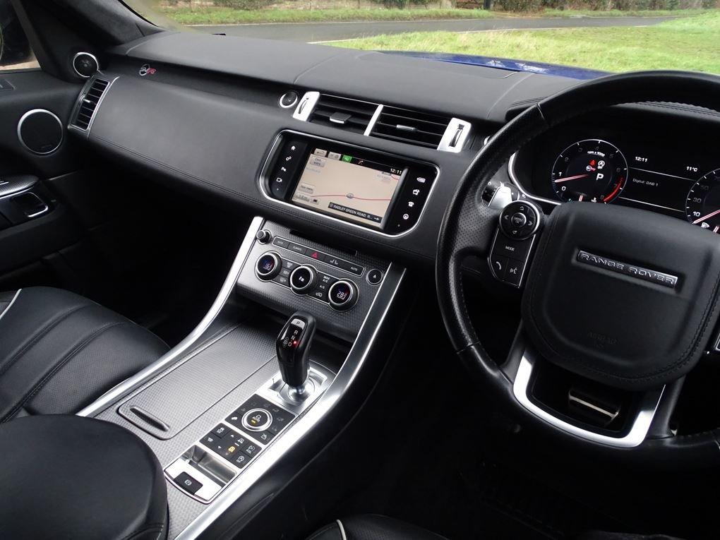 2016 Land Rover  RANGE ROVER SPORT  SVR 5.0 V8 SUPERCHARGED 8 SPE For Sale (picture 6 of 24)