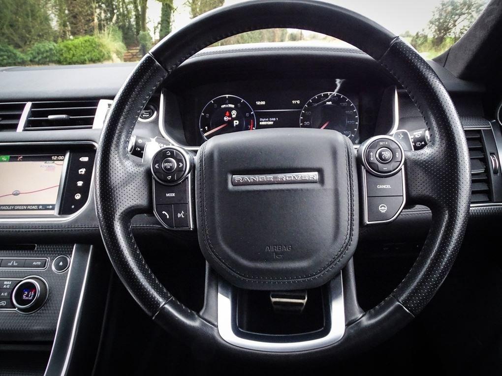 2016 Land Rover  RANGE ROVER SPORT  SVR 5.0 V8 SUPERCHARGED 8 SPE For Sale (picture 7 of 24)