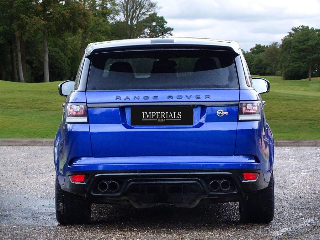 2016 Land Rover  RANGE ROVER SPORT  SVR 5.0 V8 SUPERCHARGED 8 SPE For Sale (picture 12 of 24)