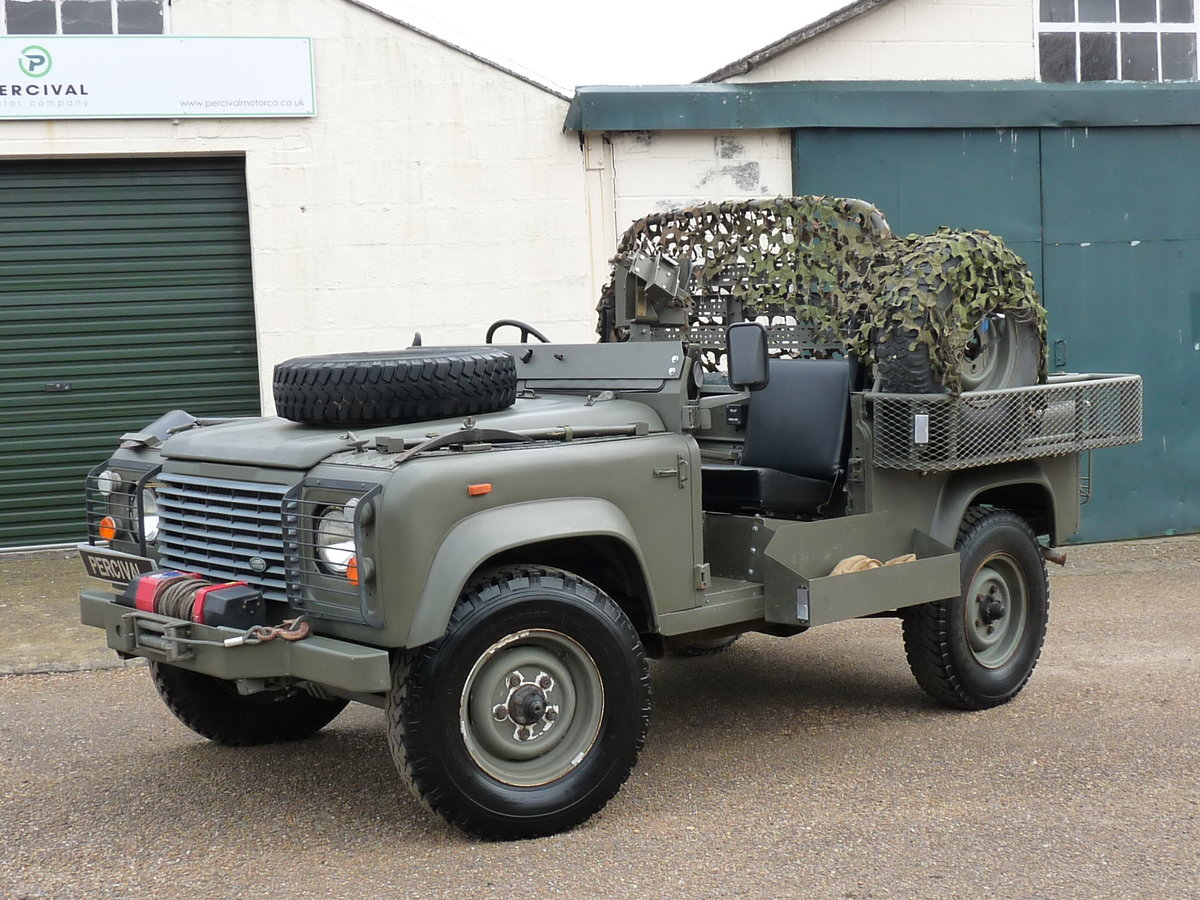 1991 Land Rover Defender 90 Pathfinder LRPV For Sale (picture 1 of 6)