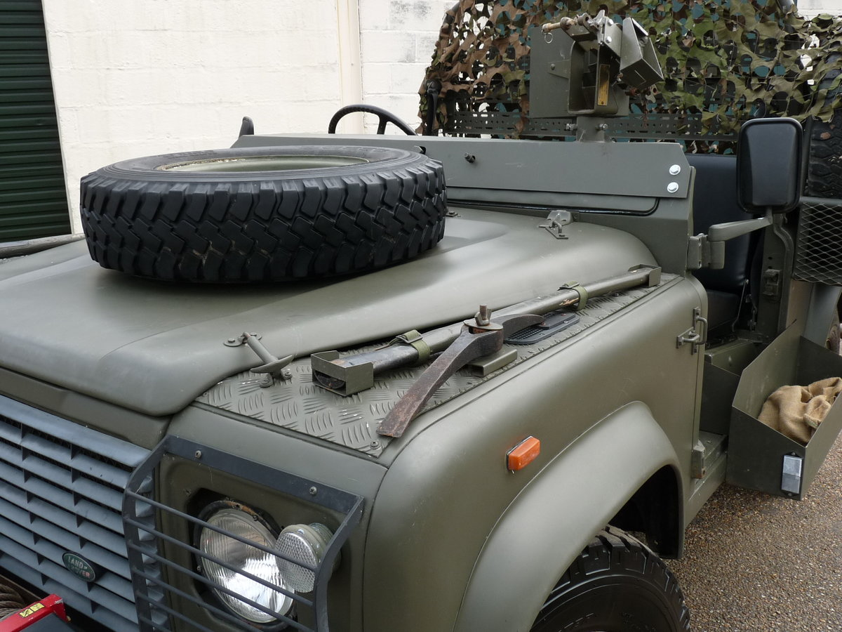 1991 Land Rover Defender 90 Pathfinder LRPV For Sale (picture 6 of 6)