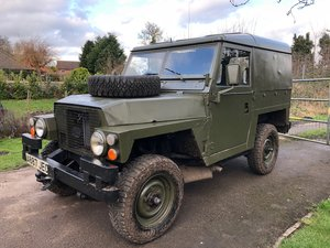 1983 Land Rover Lightweight - 200 Tdi Engine! For Sale