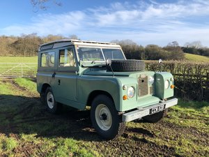 1964 Land Rover Series 2a Station Wagon