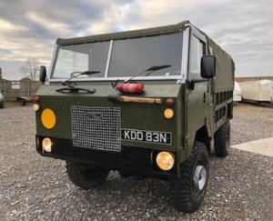 Land Rover ® 101 Forward Control RHD 12v (KDD)