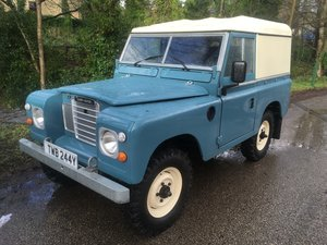 LAND ROVER SERIES 3 – FULLY REBUILT – GALVANISED CHASSIS