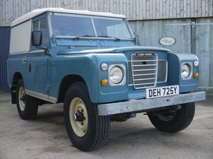 1983 Land Rover Series III 88