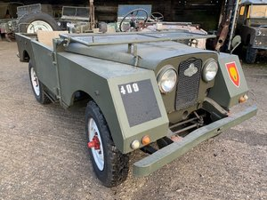 6950 Rare Early Minerva with Land Rover Chassis and Bulkhead For Sale