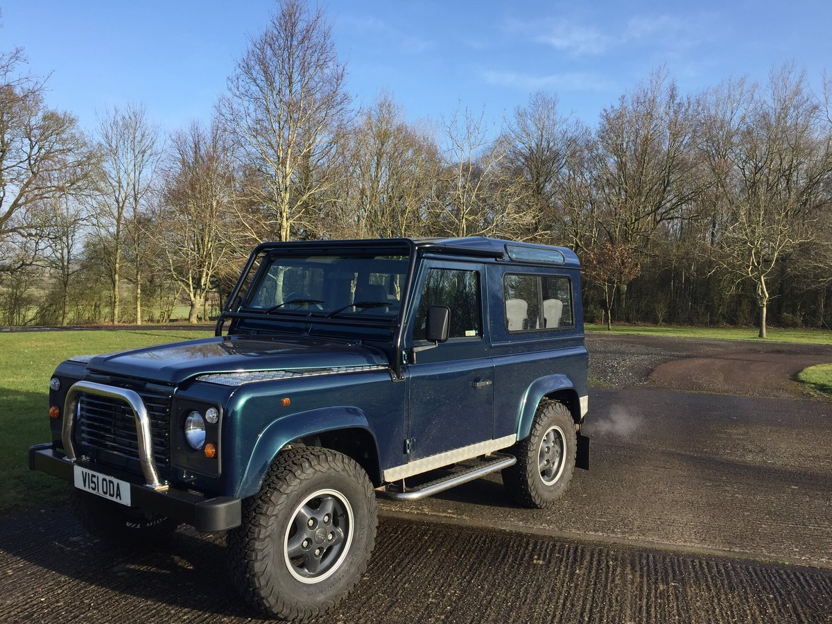 1998 Land Rover Defender 1st BUILT 50TH pre-production For Sale (picture 1 of 5)