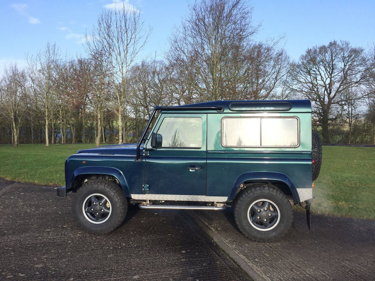 1998 Land Rover Defender 1st BUILT 50TH pre-production For Sale (picture 2 of 5)