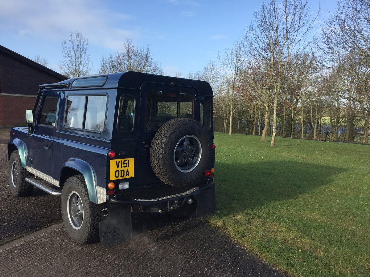 1998 Land Rover Defender 1st BUILT 50TH pre-production For Sale (picture 3 of 5)