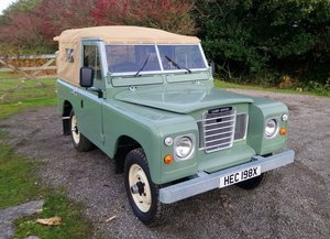 "Land Rover Series 3 2¼ Petrol 88"" Soft Top"