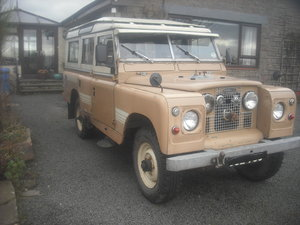 1963 Land Rover series 2a 109 2/1/4 petrol