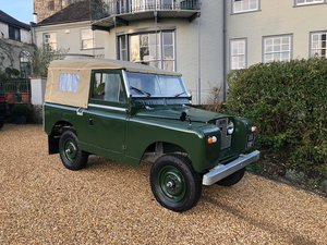 1963 Land Rover Series 2 88 Fully Restored.  Galvanised Chassis For Sale
