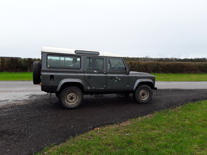 Land rover 110 county station wagon 200tdi