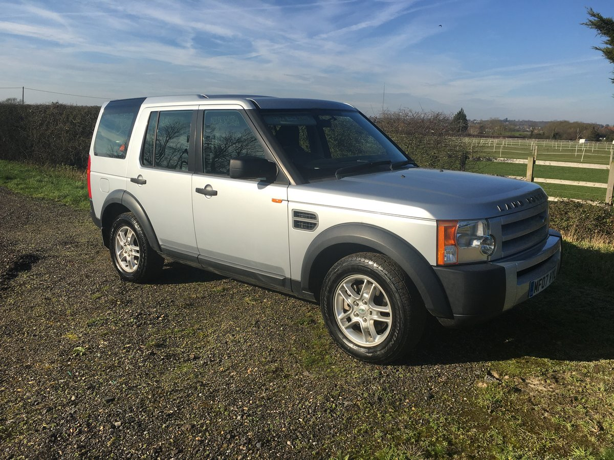 2007 Land Rover Discovery 3 GS 7 Seats SOLD (picture 1 of 5)