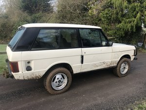 1987 Range Rover 2 Door V8 Manual Classic