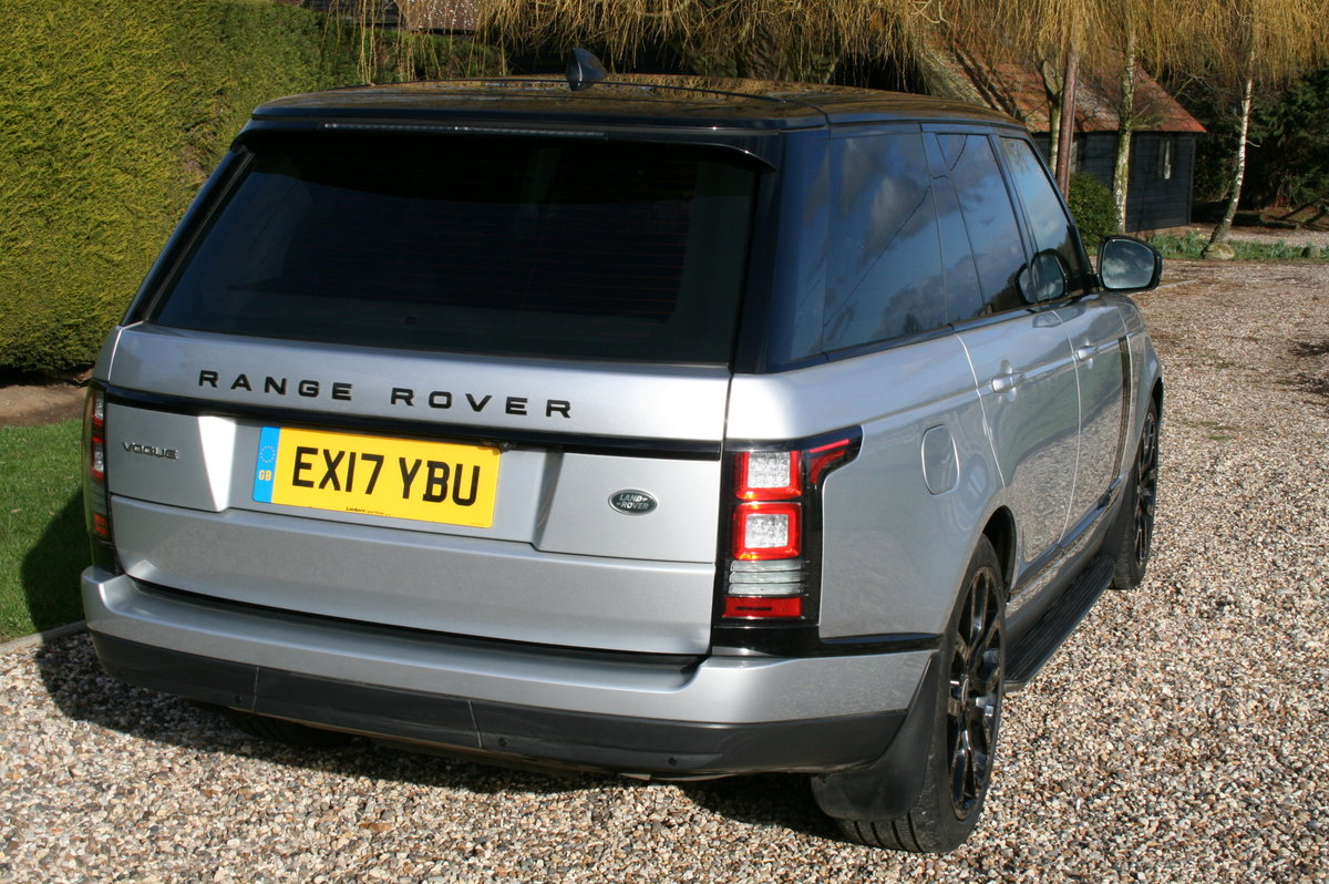 2017 Range Rover Vogue 3.0 TD V6 Auto Superb Throughout For Sale (picture 5 of 6)