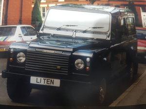 L1 TEN  Land Rover Defender 110 Number Plate