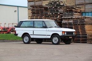 1988 Range Rover Classic 2 Door LHD (USA Eligible) SOLD