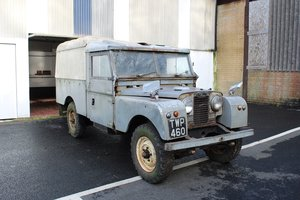 Land Rover S1 1957 - To be auctioned For Sale by Auction