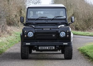 2002 Land Rover Defender 110 County Double Cab Pick-Up For Sale by Auction