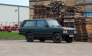 1990 Range Rover Classic 2 Door LHD (USA Eligible)