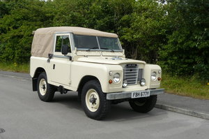 1982 LAND ROVER SERIES 3 PETROL