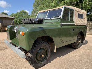 1961 Land Rover Series II 88in soft top 2.25 petrol 7 seater