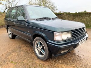 2000/X Range Rover P38 4.6 Holland & Holland edition