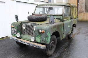Land Rover Series 2A 1968 - to be auctioned  For Sale by Auction