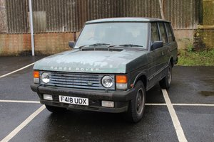 Range Rover EFI A 1988 - To be auctioned For Sale by Auction