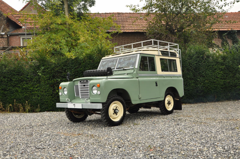 1977 Lhd land rover santana diesel series 3 88 inch swb For Sale (picture 3 of 6)