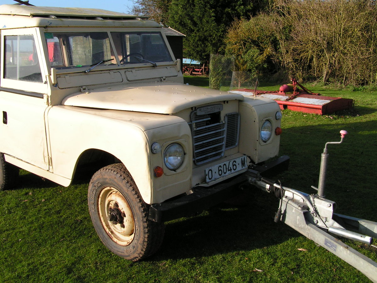 1977 Lhd land rover santana diesel series 3 88 inch swb For Sale (picture 4 of 6)