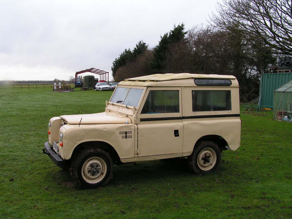 1977 Lhd land rover santana diesel series 3 88 inch swb For Sale (picture 5 of 6)