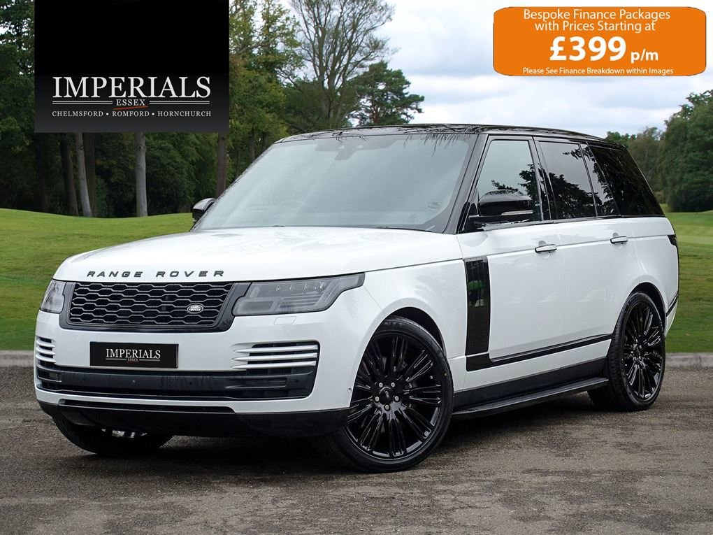 2018 Land Rover  RANGE ROVER  4.4 SDV8 VOGUE SE VAT Q EU6 8 SPEED For Sale (picture 1 of 24)